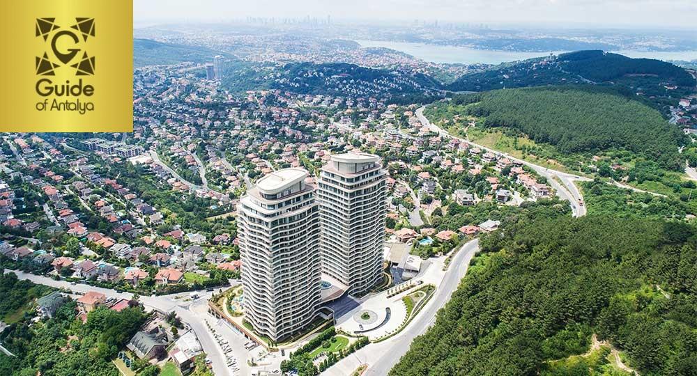 Квартиры на продажу в Бейкозе с видом на Босфор