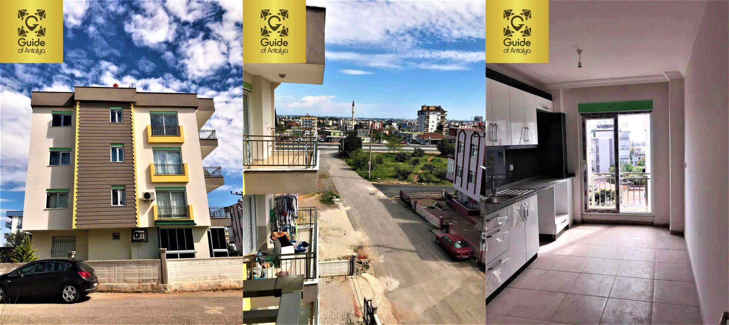 آپارتمان های فروشی تازه احداث شده در منطقه کپز، آنتالیا