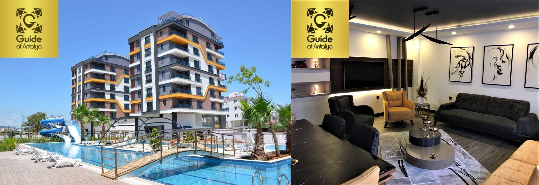 فروش آپارتمان لوکس خانوادگی در مجتمع عالی در کپز آنتالیا